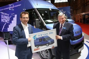 Iveco Daily Hi-Matic získává cenu 'Top Van 2016'