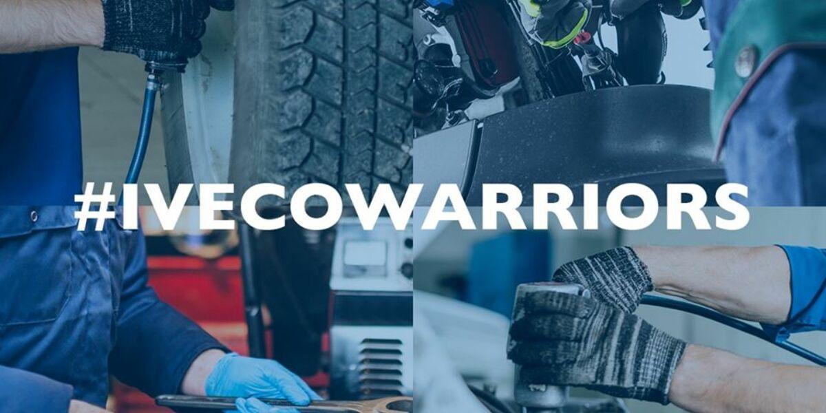 IVECO zajišťuje servis a údržbu svých vozidel. Pomáhá udržet transport v provozu