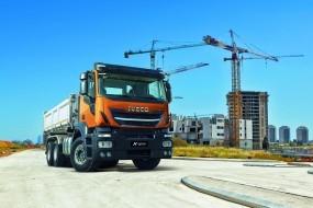 IVECO představuje nový nákladní vůz pro stavebnictví Stralis X-WAY