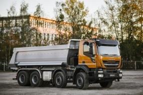 Nový Stralis X-Way: zbrusu nová řada pro stavební logistiku a městskou dopravu